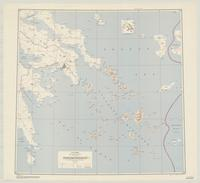 Cyclades : special strategic map -- Europe