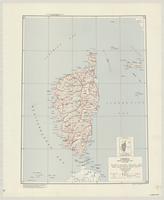 Corsica : special strategic map