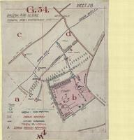 [Ypres, 3rd Battle of, Belgium] : diagram plan, no scale, shewing main watercourse directions
