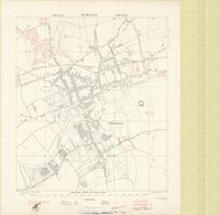 Wervicq, town plan : [south east of Ypres]