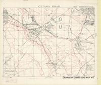 Ottawa Road : [Lens Battlefield February 1918, Canadian Corps Intelligence log map]