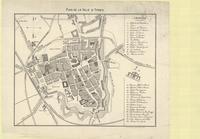 Plan de la ville d'Ypres