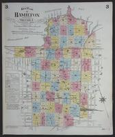 [Insurance plan of the city of Hamilton, Ontario, Canada] : [key plan, volume 1, sheet 3]