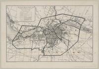 Air raid precautions map, Federal District of Ottawa