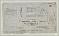 Plan of Clairmont Park Survey