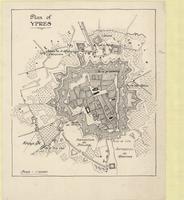 Plan of Ypres
