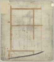 Plan of the survey of the north part of lot no. 13 in 4th Conn of Barton as laid out into lots by R J Hamilton Esqr.