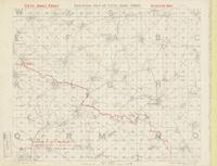 Skeleton map of Fifth Army Front : [Bapaume Region, March 2nd, 1917]