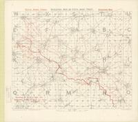 Skeleton map of Fifth Army Front : [Bapaume Region, March 5th, 1917]