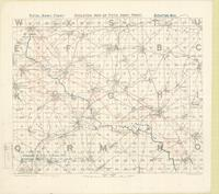 Skeleton map of Fifth Army Front : [Bapaume Region, March 7th, 1917]