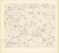 Skeleton map of Fifth Army Front : [Bapaume Region, March 8th, 1917]