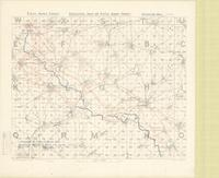 Skeleton map of Fifth Army Front : [Bapaume Region, March 9th, 1917]