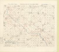 Skeleton map of Fifth Army Front : [Bapaume Region, March 10th, 1917]