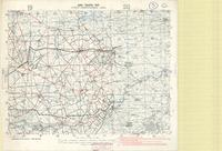 Army traffic map : Ypres - Armentieres Area