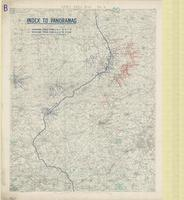 [Second] Army area map, no. 7 : index to panoramas
