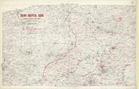 [Second] Army area map, no. 9 : enemy hospital signs opposite Second Army front (from air photographs), June 6th, 1918