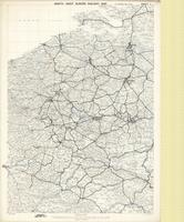 North West Europe railway map