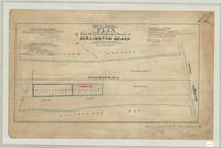 Plan of lots A.B.C.D.E.F. and of lots G, H, I, J, K, (south side of canal), at Burlington Beach, Saltfleet Township.