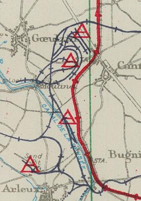 Railway and Ammunition Dump Maps