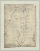 Plan of park lots adjacent [to Guelph Road, containing the property of Peter Carol esq.]