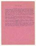 18 Juin 1943. ...Je ne sais pas si j'ai eu l'occasion de te donner quelques indications sur les changements...