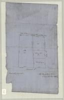 Copy of survey of property on John Street in Robert Jarvis Hamilton Survey