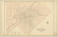 Map of the Town of Strathroy, County of Middlesex, Ontario