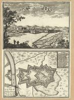 Philipsbourg ; Plan de la Ville de Philipsbourg