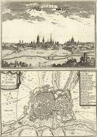 Arras ; Plan de la Ville et Cité D'Arras