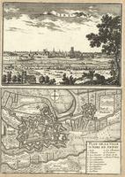 Aire ; Plan de la Ville d'Aire en Artois