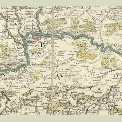 Exactissima statuum totius ducatus Bavariae... (1 map in 9 parts)