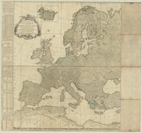 A new and accurate map of Europe. Divided into its empires, kingdoms, states and republics, &c.