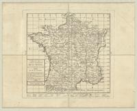 Tableau de la carte générale de la France [index sheet]