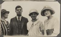 Photographs of Crombie family related to The Daily Cackle