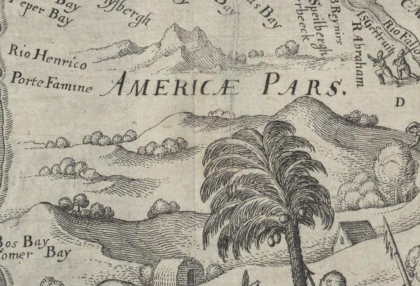 Partis Americæ (2 views)