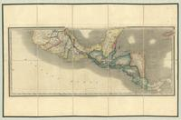 Mexico and Guatemala, shewing the position of the mines [map recto]