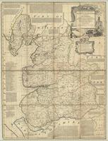 An accurate map of the County of Lancaster divided into its hundreds, laid down from the best authorities