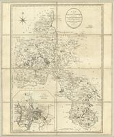 A map of the County of Oxford, reduced from an actual survey in 16 sheets, made in the years 1793 and 1794