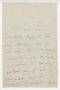 Letter, Franz Liszt to Joseph Klein