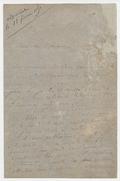 Letter, Franz Liszt to Léon Escudier