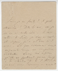 Letter, Franz Liszt to [Agnes Street-Klindworth]