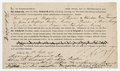 Annotated contract with publisher Schuberth, signed by Liszt