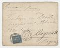 Letter, Franz Liszt to Baron von Droste