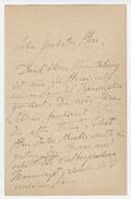 Letter, Franz Liszt to Herr Schirmer