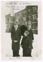 1944-02, Stuart and Marjorie Ivison with their children Donald, Duncan and David