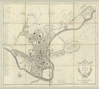 A new and accurate plan of the City of Bath to the present year, 1793.