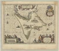 Tabula Magellanica qua Tierræ del Fuego, cum celeberrimis fretis a F. Magellano et I. le Maire detectis