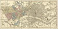 A new pocket plan of the Cities of London & Westminster; with the borough of Southwark