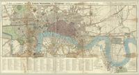 A new and correct map of London, Westminster and Southwark, exhibiting the various improvements, to the year 1819.