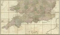A new map of England & Wales. Drawn from several surveys &c on the new projection : [sheet 2]